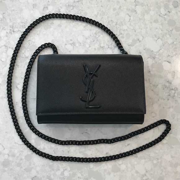 fe4a4dd1bcf Yves Saint Laurent Bags | Ysl Small Kate Leather Shoulder Bag All ...